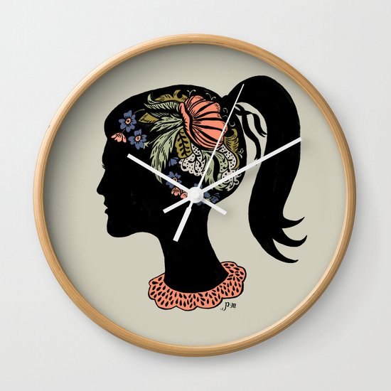 Thought Patterns Wall Clock