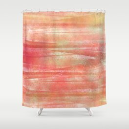Funky Vintage Textured Pattern Shower Curtain