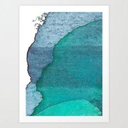 Deep blue3 Art Print