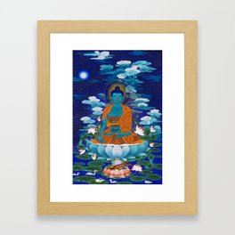 Medicine Buddha Framed Art Print