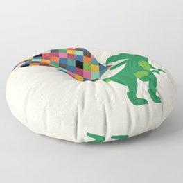 Rainbow Power Floor Pillow