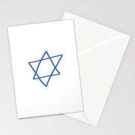 Star of David 16- Jerusalem -יְרוּשָׁלַיִם,israel,hebrew,judaism,jew,david,magen david Stationery Cards