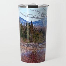 The Way to the Mountain Travel Mug