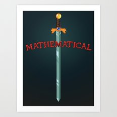 Mathematical Art Print
