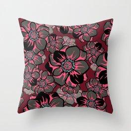 Mandala Flowers 16 Throw Pillow
