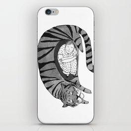 Big Cat Nap  iPhone Skin