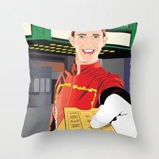 Tampa Theater Movie Usher Throw Pillow