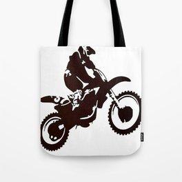 Motor X Silhouette Tote Bag