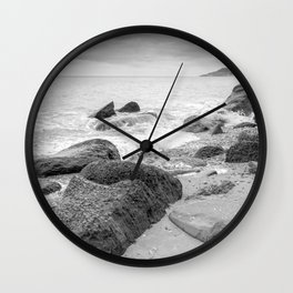 Towards Lyme Regis Wall Clock