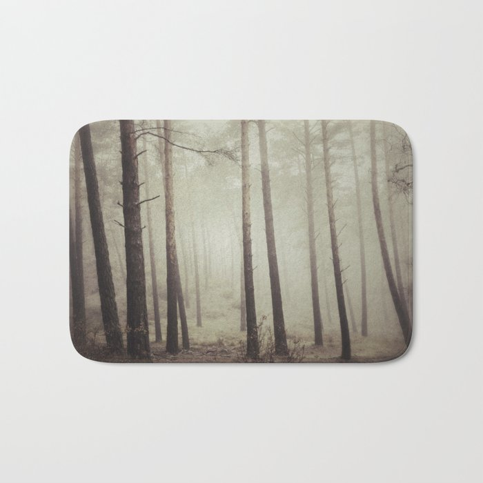 """Into the woods"". Follow your dreams.... Bath Mat"