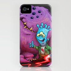 A boy and his Grogg Slim Case iPhone (4, 4s)