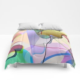 abstract-1 Comforters