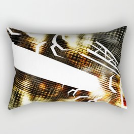 SpaceX Celebration Rectangular Pillow