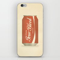 true blood iPhone & iPod Skins featuring True Blood by Beardy Graphics
