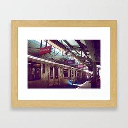 Chicago Transit Framed Art Print