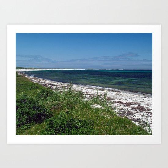 Scuthvie Bay Art Print