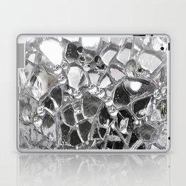 Silver Mirrored Mosaic Laptop & iPad Skin