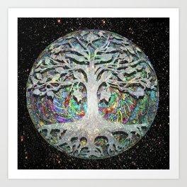 Internal Faith -  Tree of Life Art Print