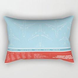 America aviation Rectangular Pillow