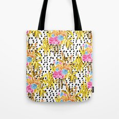 Patterned Bouquet II Tote Bag