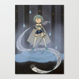 Sayaka Canvas Print
