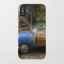 Off to Fulfill a Surfing Dream iPhone Case