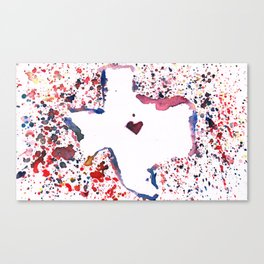 we'll always have our texan sunsets Canvas Print