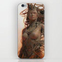Gynoid IV iPhone Skin