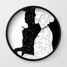 Black&White Wall Clock