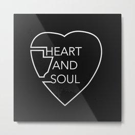 heart and soul - twin atlantic  Metal Print