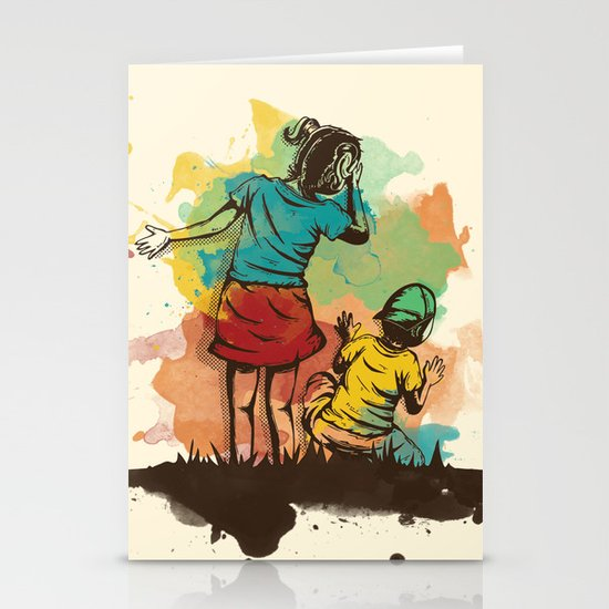 Hide & Seek Part 2 Stationery Cards