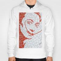 "salvador dali Hoodies featuring ""Salvador Dali"" Unique mosaic  by mosaics-design.com"