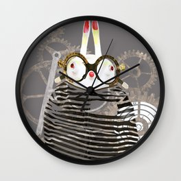 Cons Time Rabbit Wall Clock