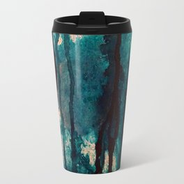 Blue spheres and tears I Travel Mug