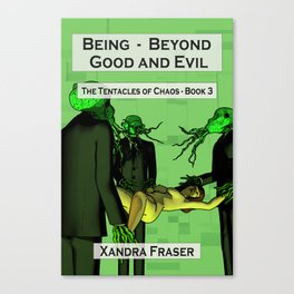 Being – Beyond Good and Evil Canvas Print
