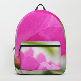 Peony in bloom Backpack