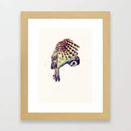 Flying Owl II Framed Art Print