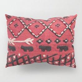 V22 Sheep herd Design Traditional Moroccan Carpet Texture. Pillow Sham