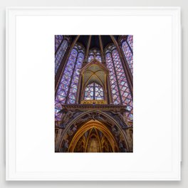 Sainte Chapelle - Paris Framed Art Print