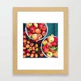 Pacific Northwest Apple Cart Framed Art Print