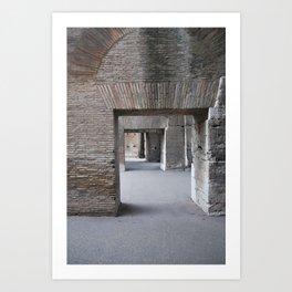 Ancient Doorways Art Print