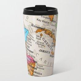 Map Art Travel Mug