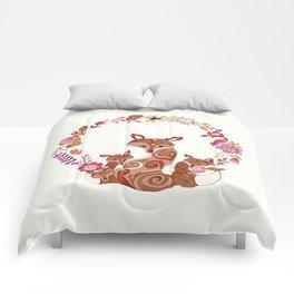 FOX & FLOWERS Comforters
