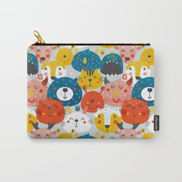 Monsters friends Carry-All Pouch