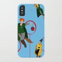 quidditch iPhone & iPod Cases featuring Quidditch Sisters  by Katá Mart