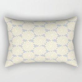 White cotton flower Rectangular Pillow