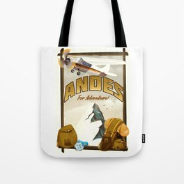 "Andes ""For Adventure!"", Tote Bag"