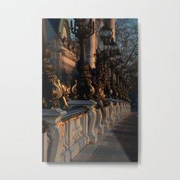 Paris, Alexandre III bridge Metal Print