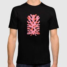 Sea Leaf: Matisse Collage Peach Edition T-shirt