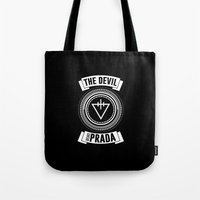 logo Tote Bags featuring Logo by Ferry M. Putra